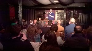 Comedy performer at Manhattan34, Leicester