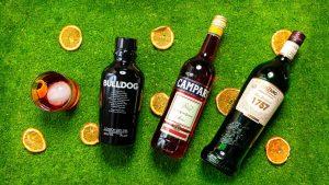 Bulldog gin, Campari, Cinzano Rosso, Negroni Week, leicester bar