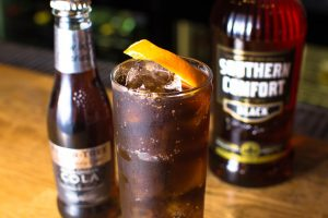 Southern Comfort Black and Madagascan Cola